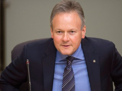 Bank of Canada Governor Stephen Poloz said he believes the most likely scenario is a soft landing where home prices stabilize, although he acknowledged that an imbalance in the market and high household debt remain key risks.